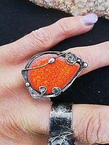 Prstene - Prsteň pomaranč - 10853470_