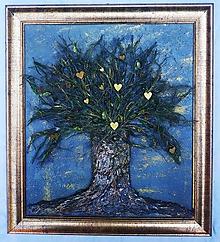 Obrazy - Srdiečkový strom - obraz - 10855618_