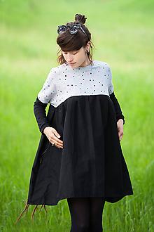Šaty - Šaty FEE grau - 10856664_