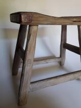 Nábytok - Stolček- lavica k&m dizajn - 10856226_