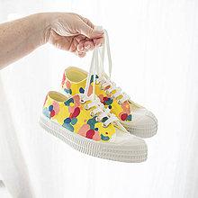 Obuv - Rainbow (Rainbow maľovanie - vlastné zaslané topánky) - 10857947_