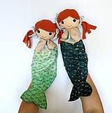 Hračky - Maňuška morská panna - 10857531_