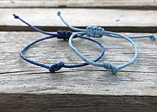 Náramky - Náramky na šnúrke pre párik - 10856060_