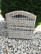 Košíky - Košík na noviny - 10856741_