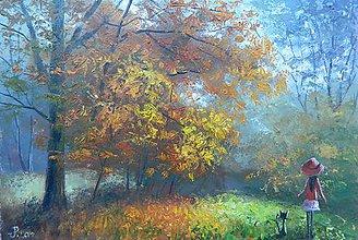 Obrazy - spomienka na jeseň - 10857596_