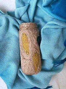 "Dekorácie - Mlakua""- zerowaste recyklovaná váza - 10857623_"