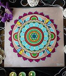 Obrazy - Mandala podľa dátumu narodenia - 10856879_