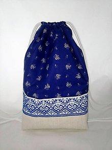 Batohy - BATOH FOLK MODRÝ - 10857685_