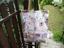 Nákupné tašky - Hortenzie II - taška - na nákup - 10857407_