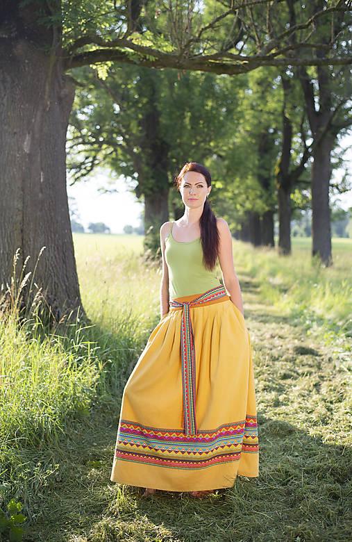 sukňa Malawi  2- etno