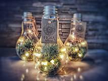 "Svietidlá a sviečky - Dekoračná lampička ""Žiarovka""  (Dekoračná lampička ""Žiarovka"" - doručenie SR) - 10855843_"