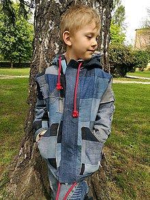 Kabáty - Detský kabátik pre chlapčeka - 10855816_