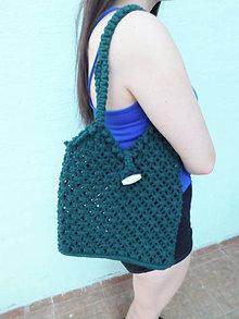 Iné tašky - letná taška - zelená - 10856308_