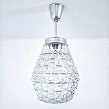 Svietidlá a sviečky - Skleněný lustr - Hruška - 10855538_