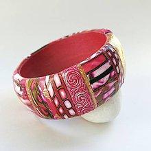Náramky - Ružový náramok II - 10855335_