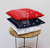 Úžitkový textil - sada obliečok na vankúše Folk (3ks) - 10858077_