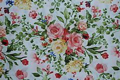 Sukne - Sukňa Maľované kytice - 10858940_