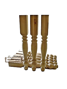 Nábytok - Sústružená noha na jedálenský stôl II. - 10859220_