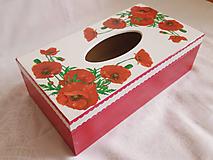 Krabičky - Vreckovník - Vlčie maky - 10859632_