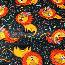 Textil - bavlnený úplet Levy, šírka 160 cm - 10858354_