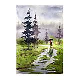 Obrazy - Spolu v lese - 10858528_