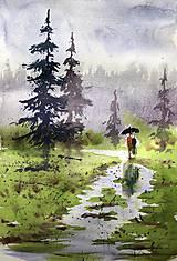 Obrazy - Spolu v lese - 10858529_
