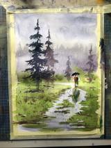 Obrazy - Spolu v lese - 10858530_