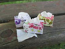 Krabičky - Mini vreckovky pre Barbie - 10858887_