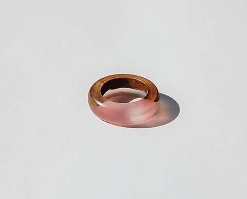 Živicovo - drevený prstienok 1