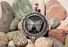 Polotovary - Difúzer - Prívesok s motýľom - 10860641_
