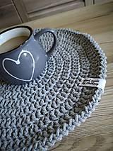 Úžitkový textil - Háčkované prestieranie - 10859435_