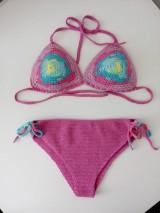 Bielizeň/Plavky - háčkované plavky - 10858358_