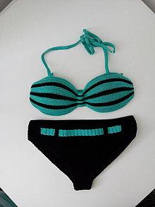 Bielizeň/Plavky - háčkované plavky - 10858338_