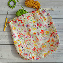 Iné tašky - Lúčna tvoritaška ~ projektová taška na vaše tvorenie - 10858474_