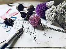"""Náhrdelníky - Gulička na retiazke """"Hyacinthus"""" - 10858195_"""