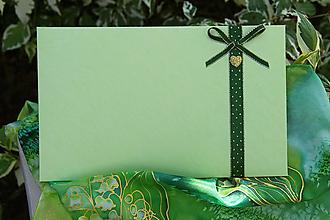 Papiernictvo - Darčekové obálky k maľovanému hodvábu 26 x 16 cm - 10860141_