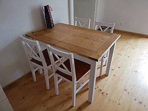 Nábytok - Kuchynský stôl rozťahovací - 10859126_