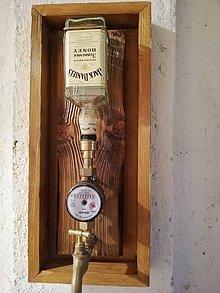 Iné - Fľaša na stenu - 10859201_