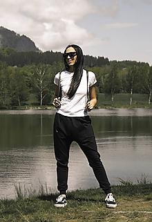 Nohavice - Tepláky baggy dospelácke - 10859952_