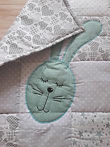 Úžitkový textil - Detská patchwork dečka