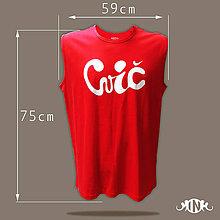 """Tričká - Pánske tričko """"cvič"""" XL - 10859535_"""