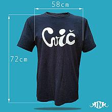 """Tričká - Pánske tričko """"cvič"""" L - 10859537_"""