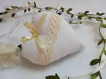 Darčeky pre svadobčanov - Svadobné srdiečká - 10858723_