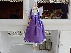 Bábiky - Tilda anjelik - 10858645_