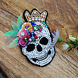 Odznaky/Brošne - Dia de Los Muertos Mascarade ... brož - 10861919_