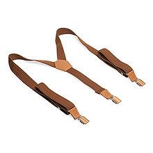 Doplnky - Traky Cognac Suspenders - 10861650_
