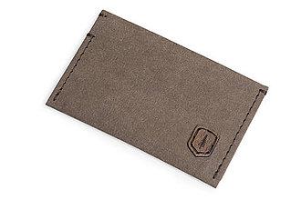 Peňaženky - Vizitkár Brunn Washpaper Card Holder - 10861891_