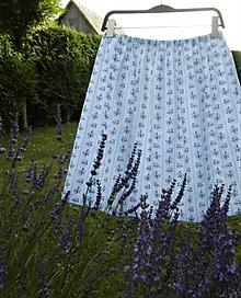 Detské oblečenie - folk sukňa drobné kytičky - 10862599_