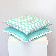 Úžitkový textil - sada obliečok na vankúše Mint (2ks) - 10862995_