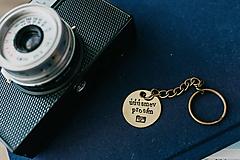 Drobnosti - Prívesok na kľúče úúúsmev prosím - 10861977_